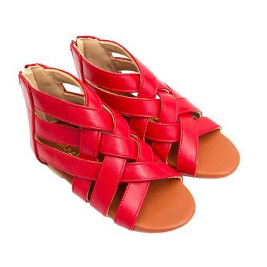 Minetha Kid Shoes Macca Sepatu Anak Perempuan - Red