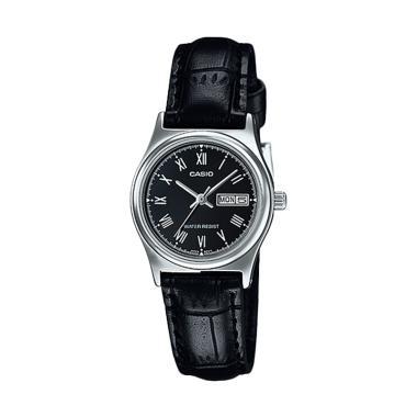 Jam Tangan Casio Standard Strap Kul ... -1B Wanita - Silver Black