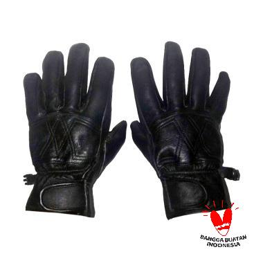 Gauravi Fashion 035 Full Gloves Sarung Tangan - Black