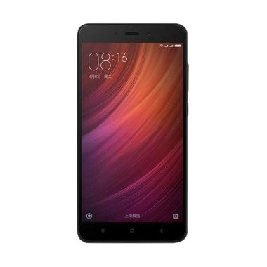 Xiaomi Redmi Note 4 Smartphone - Black [32GB/ 3GB/ Garansi Resmi TAM]