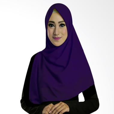 Ruman Hijab Square Jilbab Kerudung Segi Empat TS - Navy