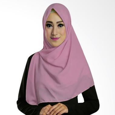 Ruman Hijab TS Ruman Square Kerudung Segi Empat - Plum