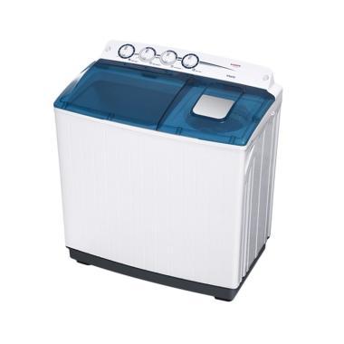 Sanken TW-1555 Mesin Cuci - Putih [2 tabung/14 kg/Khusus Jabodetabek]
