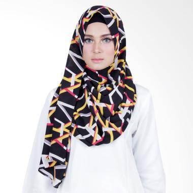 Cantik Kerudung Sheefa Long Nadine Print Hijab - No.4