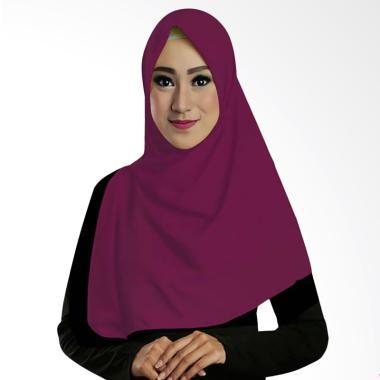 Ruman Hijab Square Jilbab Kerudung Segi Empat TS - Ungu