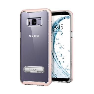 Spigen Crystal Hybrid Casing for Samsung Galaxy S8 - Pink