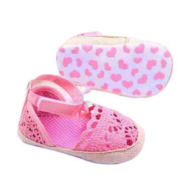 Cottonrama Brenda Sandal Prewalker Sepatu Bayi - Pink