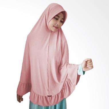 Milyarda Hijab Instant Bergo Pet Ihrom - Dusty Pink