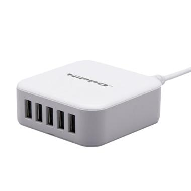 Hippo Penta Multi Adaptor Charger [5 Ports USB/ Simple Pack]