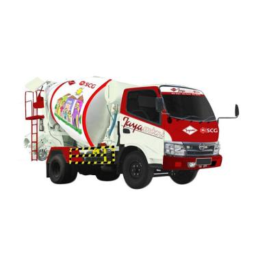 Beton Jayamix Super Concrete K350 with Truck Kecil Jayamixni