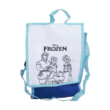 Unique Spunbag Drawing Frozen - Biru Tosca [1 pcs]
