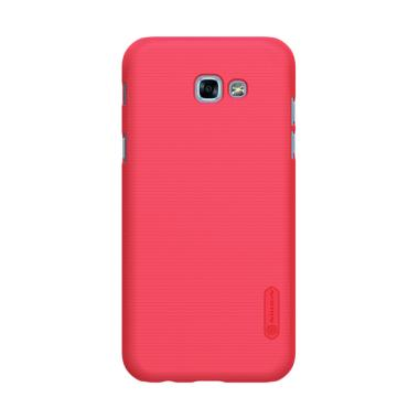 sports shoes 51135 d594f Nillkin Frosted Hardcase Casing for Samsung Galaxy A7 2017 - Red