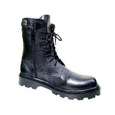 Mandien's PDL MILITER Kobra Mile Sepatu Boots Pria - Hitam