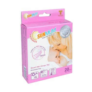 Sunmum Breast Milk Storage Kantung Penyimpan ASI [250 mL]