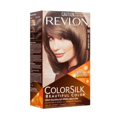 Revlon Colorsilk Beautiful 50 Cat Rambut - Light Ash Brown