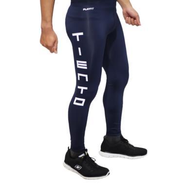 Tiento Long Pants TypoType Celana Fitness Pria - Navy