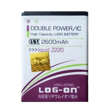 Log On Double Power Battery for Ace ... 1900-2600 mAh/IC Baterai]
