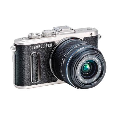 Olympus PEN E-PL 8 KIT 14-42mm EZ Kamera Mirrorless - Hitam