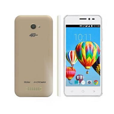 Smartfren Andromax B Smartphone - White Gold [8GB/1GB/4GLTE]