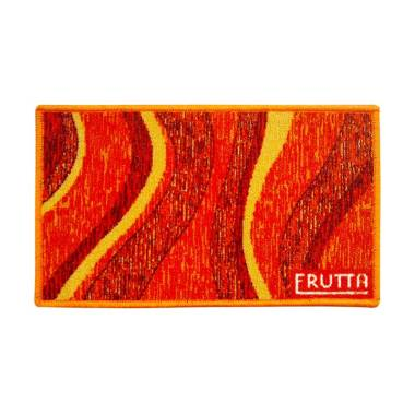 Classic Carpets Wave Keset Anti Slip - Orange [33 x 57 cm]