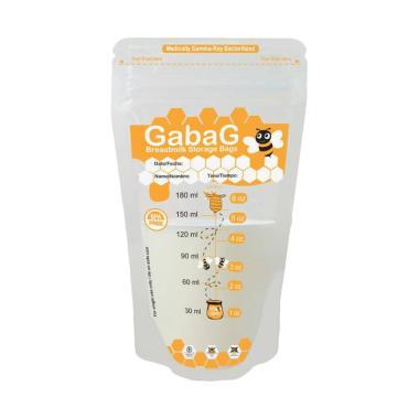 Gabag Breast Milk Storage Kantung P ...  - Orange [180 mL/30 Pcs]