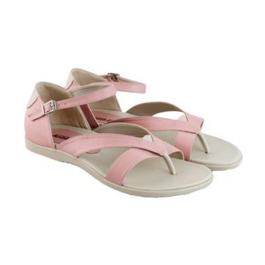 Azzurra 518-22 Sandal Flats Fashion Wanita - Pink