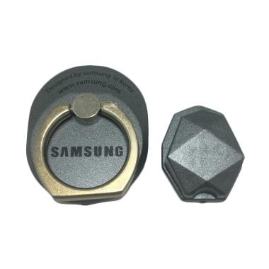 G-smart Ring Stand Style Holder Hook Logo Samsung - Grey