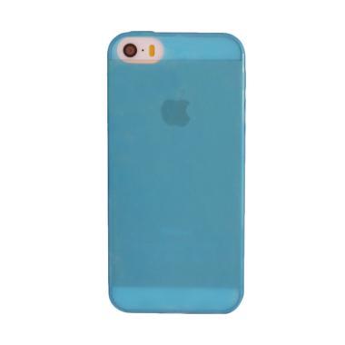 Remax Super Pudding Slim Casing for Iphone 5/5s/SE - Biru