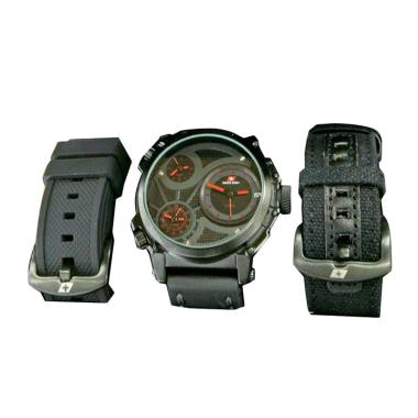 Swiss Army SA X-2073 Infantry Full Set Jam Tangan Pria