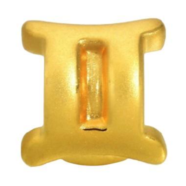 Bella & Co Tiaria Solid Silver Pendant Gemini for Woman and Men