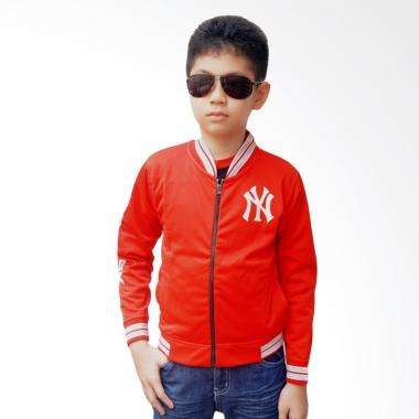 Chloe Babyshop Varsity New York F711 Jaket Anak - Merah
