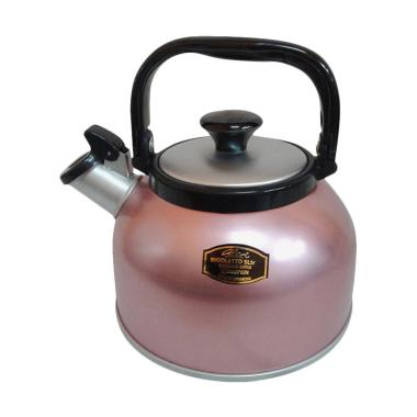 Maspion Rigoletto Whistling Kettle Teko - Pink [5 Liter]