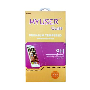 MyUser Tempered Glass Screen Protector for Huawei P8 Lite