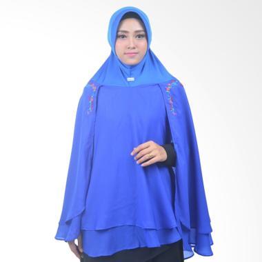 Atteena Hijab Alifa Rafiqah XL Jilbab Instant - Biru Benhur