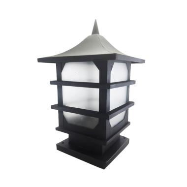 Best Lighting P13 BK Pilar Minimalis Lampu Taman - Hitam