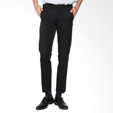 Cardinal Formal Man Slim Fit Celana Panjang - Hitam [FBSBX011 01]
