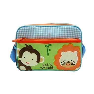 Char & Coll Natalia Sling Bag Monkey Lion - Hijau