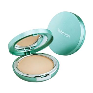 Wardah Everyday Luminous Two Way Cake Powder - 01 Light Beige