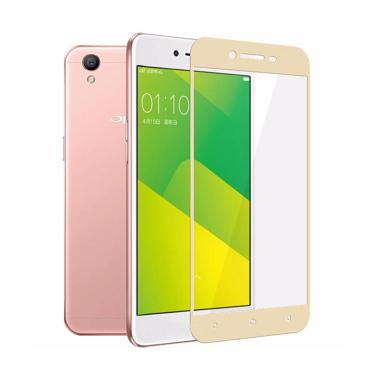 Tempered Glass 3D Full Screen Cover for Oppo Neo 9 A37 - list Gold