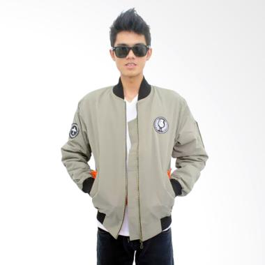 Kezora The Bojiel Grenade Jacket Bomber Pria - Green Army