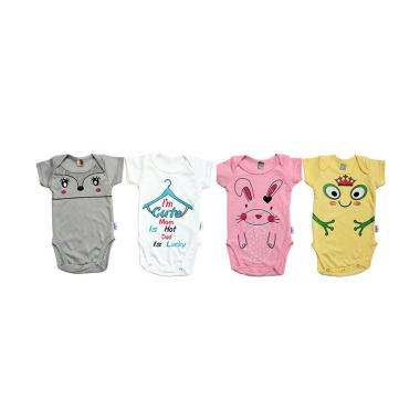 Kazel Bodysuit/ Jumper Bayi Motif Rabbit Edition Isi.
