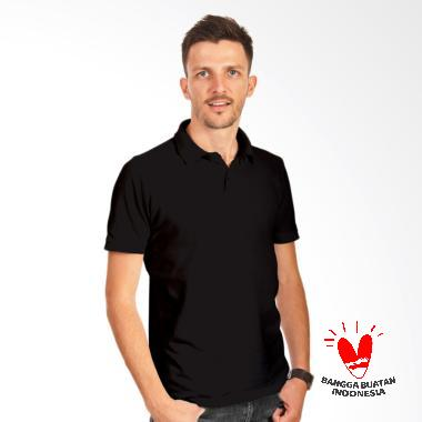 Morning Whistle Man Basic Polo Shirt Pria - Black Hawk
