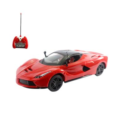 OICE Ferrari Supercar Extreme Edition Mainan Remote Control - Red