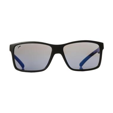 PUMA Sunglasses Trendy Neon Colour 15189-56 - Navy Blue Metallic