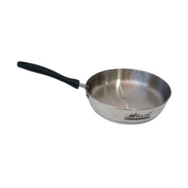 Muliya Frypan Stainless Steel Capsule Bottom Wajan [24cm]