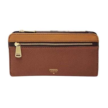 Fossil Preston SL 7141249 Dompet Wanita - Multi Brown