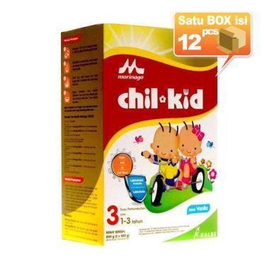 Morinaga Chil Kid Vanila  2x400g Box Susu Formula [12pcs/karton]