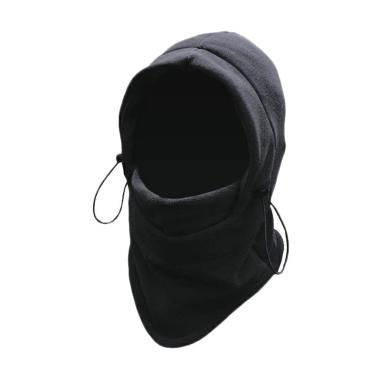 Ormano Buff Balaclava Full Face Masker Multifungsi - Hitam [6 in 1]
