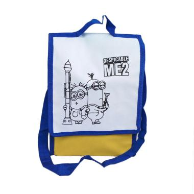 Unique Spunbag Drawing Despicable Me 2 Goodie Bag - Biru [1 pcs]