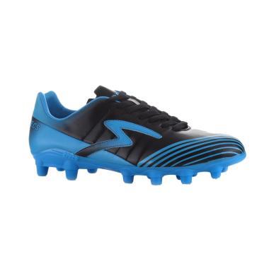 Specs Barricada Patriot Sepatu Sepakbola 100680 - Black Cirrus Blue
